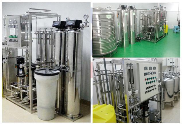 500L小型GMP认证纯化水设备