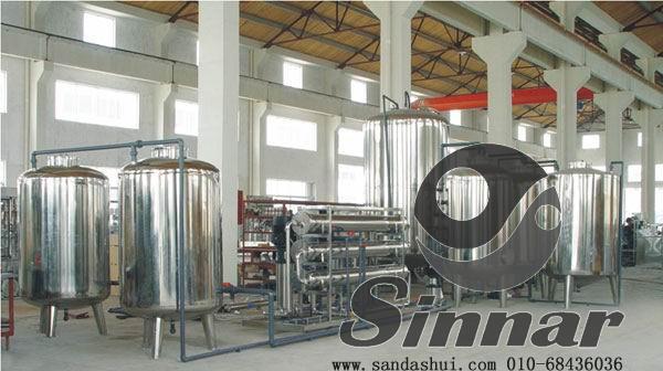 EDI高纯水制备系统二级RO纯水制备系统